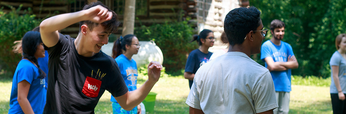 """The 2019 Huang Fellows Ropes Course"""" width="""