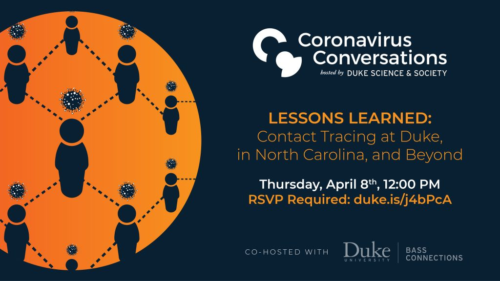 Coronavirus Conversations Contact Tracing April 8th 2021 at Noon