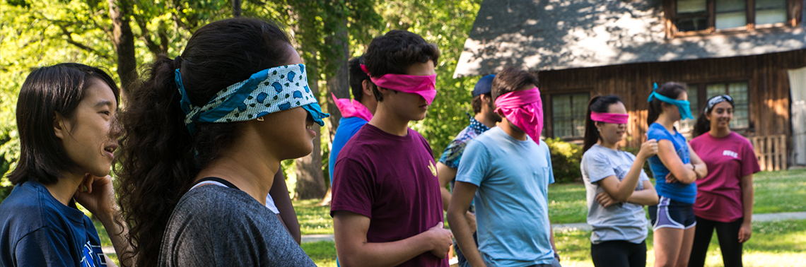 """The 2018 Huang Fellows Ropes Course"""" width="""