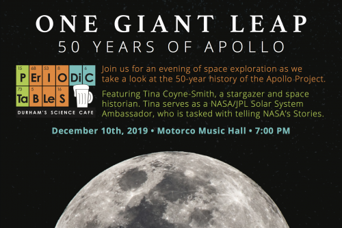 Dec. 10 Periodic Tables, One Giant Leap: 50 Years of Apollo