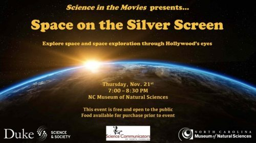 Science in the Movies, Space on the Silver Screen, Nov 21