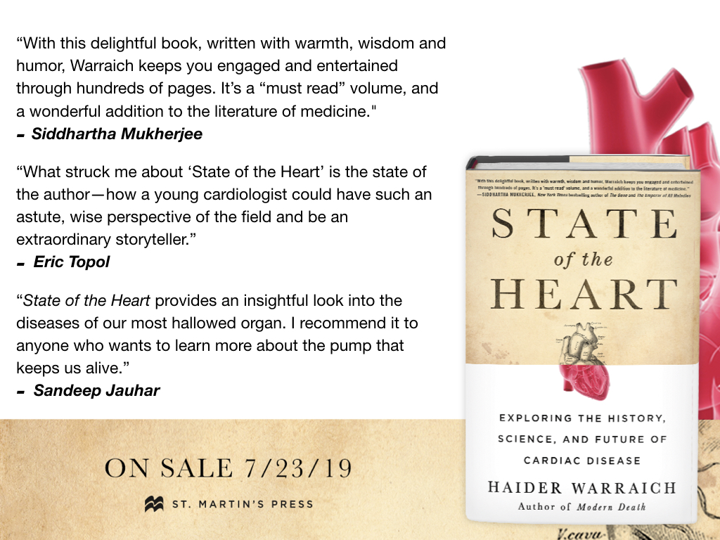 State of the Heart Book Cover and Quotes