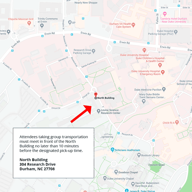 Location for pickup
