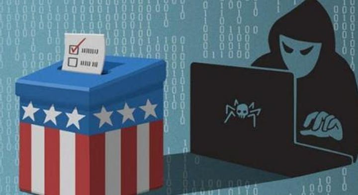 Hacking votes illustration