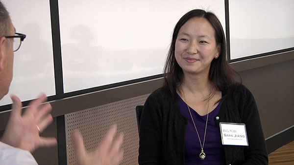 """Woman in the Science Communication """"hot seat"""""""