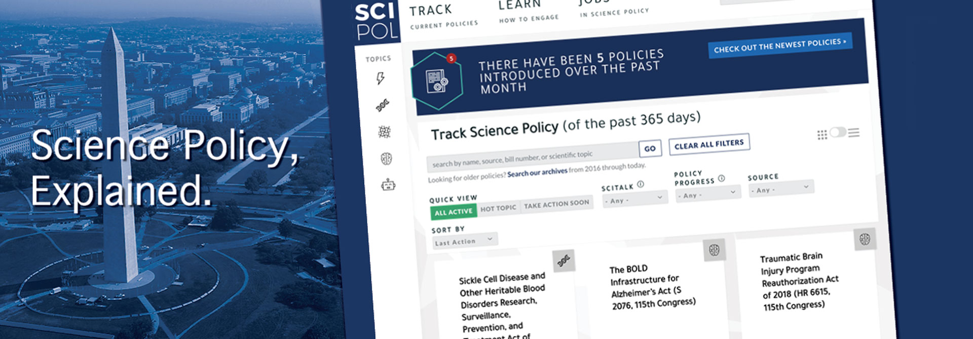 SciPol Screenshot
