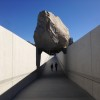 "Photograph of ""Levitated Mass"" by Christopher Sims"