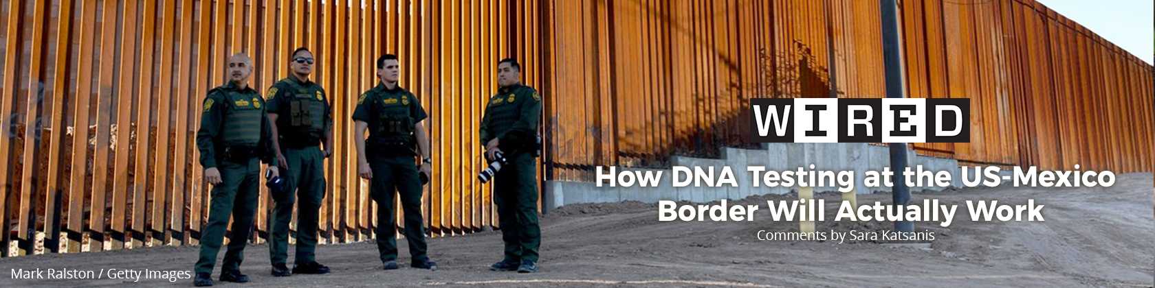 Guards at the US-Mexico Border
